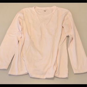 STYLE & CO Long Sleeve White Shirt Sz Large